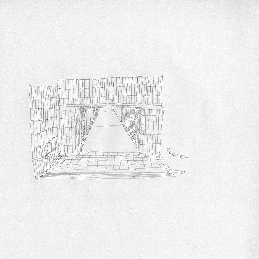 drawing teresa mayr 2017 stations pencil on paper